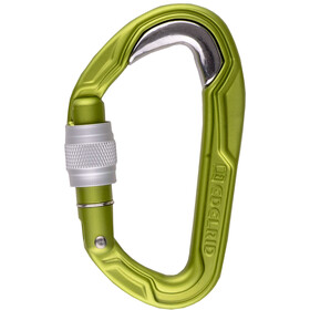 Edelrid Bulletproof Screw Carabiner green